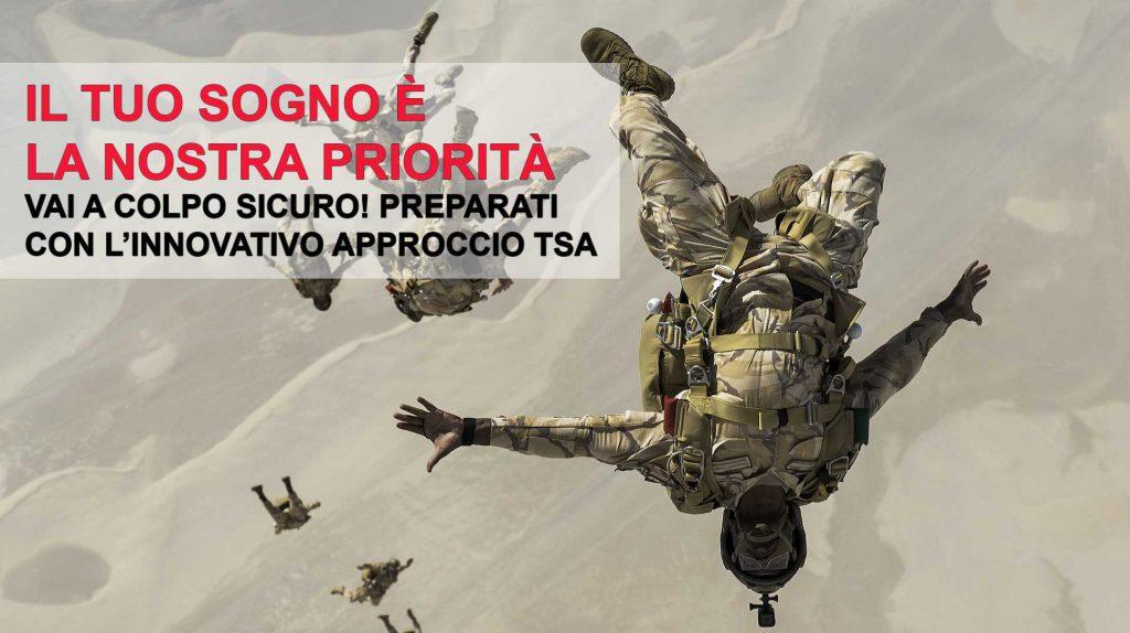 TSA_CONCORSO FORZE ARMATE E DI POLIZIA